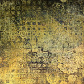 Konst färgglada prydnad grunge bakgrund — Stockfoto