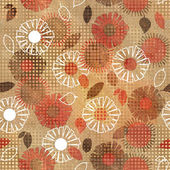 Art vintage floral seamless pattern background — Photo