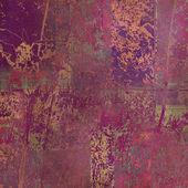 アート花飾りグランジ背景 — ストック写真