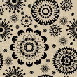 Art vintage floral seamless pattern background — Stock Photo