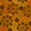 Art vintage floral seamless pattern background — Stockfoto