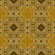 Art vintage damask seamless pattern background - Stock Photo