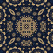 Art vintage damask seamless pattern background — Stock Photo #10785434