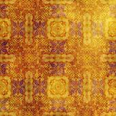 Arte vintage damasco sem costura fundo — Foto Stock