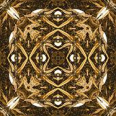 艺术复古几何装饰图案 — 图库照片