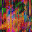 Stock Photo: Art abstract rainbow lines background