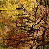 Las hojas otoñales tarjeta de fondo — Foto de Stock