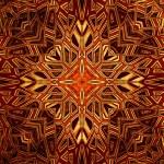 Art vintage shabby background with damask patterns — Stock Photo #10908970