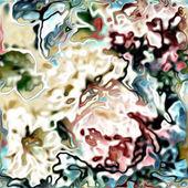 Art vintage floral pattern background — Stock Photo