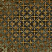 Art vintage grunge background with damask patterns — Stock Photo