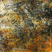 Konst grunge abstrakt bakgrund kort — Stockfoto