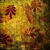 Art floral ornament grunge background — Стоковое фото