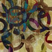 Konst abstrakt grunge konsistens bakgrund — Stockfoto