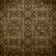 Art vintage grunge background with damask  patterns - 