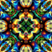 アート サングラス幾何学的な装飾的なパターン — ストック写真