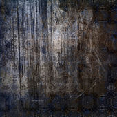 Kunst vintage grunge hintergrund mit damast-muster — Stockfoto