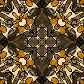Umění ročník damaškové vzor bezešvé pozadí — Stock fotografie