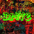 Art urban graffiti raster background — Zdjęcie stockowe