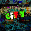 Art urban graffiti raster background — Stock Photo