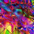 Art abstract seamless colorful pattern background - Photo