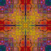 Art colorful ornamental vintage pattern — Stockfoto