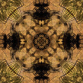 Art colorful ornamental vintage pattern — Stock Photo