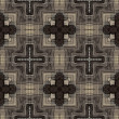 Art vintage geometric ornamental pattern — Stock fotografie