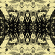 Art vintage geometric ornamental pattern — ストック写真