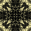Art vintage geometric ornamental pattern — Photo