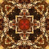Arte nuvo ornamentales vintage patrón de colores — Foto de Stock