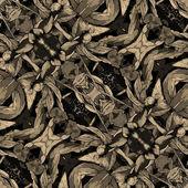 Art nuvo colorful ornamental vintage pattern — Stock Photo
