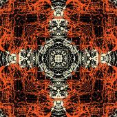 искусство урожай геометрический орнамент — Стоковое фото