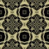 Motivo ornamentale geometrico vintage di arte — Foto Stock
