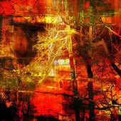 Arte abstracto grunge textura gráfica fondo — Foto de Stock