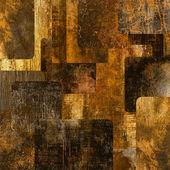 искусство абстрактный гранж-фон квадраты — Стоковое фото