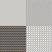 Satz von textur-hintergrund — Stockvektor