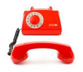 Téléphone et le récepteur — Photo