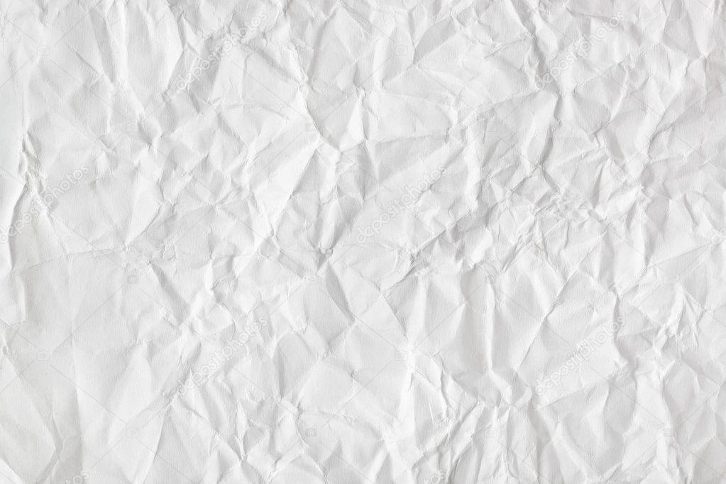 皱折的白色纸张纹理-抽象背景— 照片作者 violin