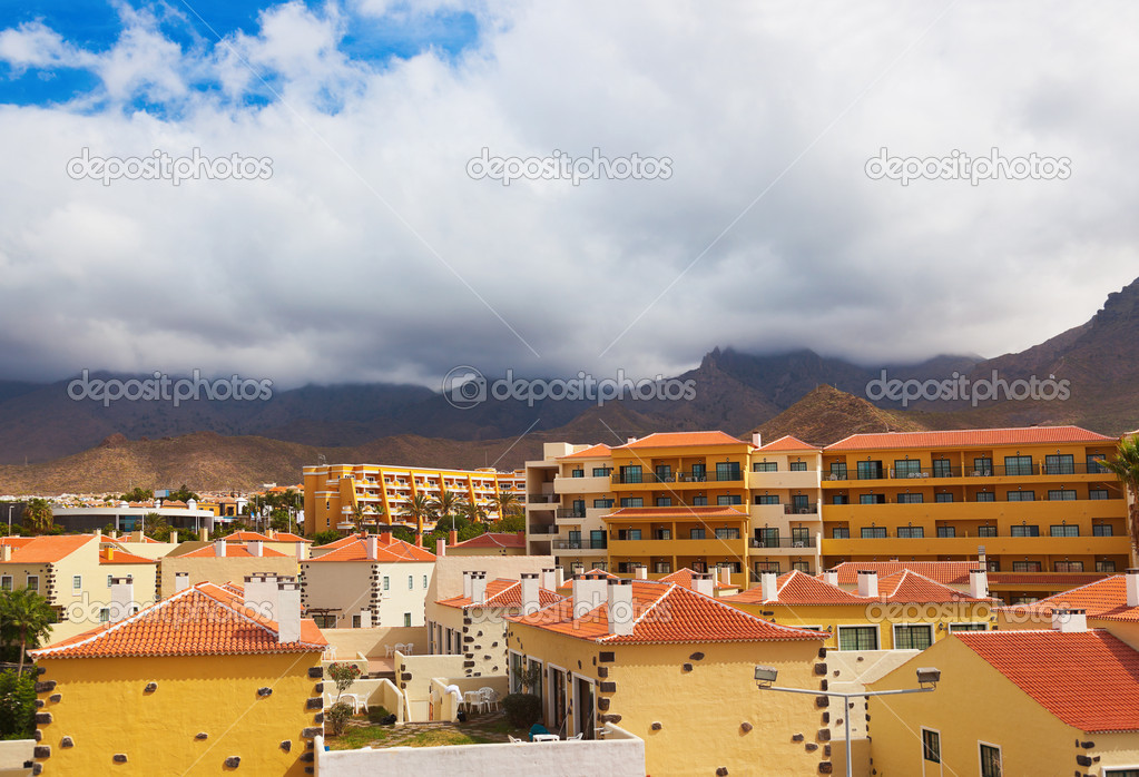 Las Americas in Tenerife island - Canary Spain  Stock Photo #10795666