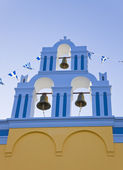Santorini church - Greece — 图库照片
