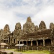 Bayon  Temple. Cambodia. — Stock Photo