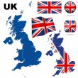 United Kingdom vector set. - Stock Vector