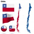 Royalty-Free Stock Imagen vectorial: Chile vector set.