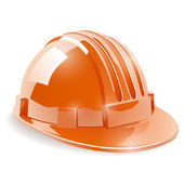 Construction safety helmet — Stock Vector