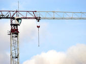 Construction crane — Stock fotografie