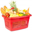 Royalty-Free Stock Photo: Basket with food