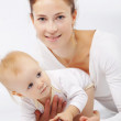 Mother with baby — Stock Photo #10757500