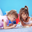 Kids drawing — Foto Stock