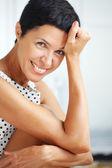 Beautiful middle aged woman — Stock Photo