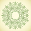 Royalty-Free Stock Vector Image: Ornamental round lace in ethnic style